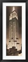 Framed Empire State Building