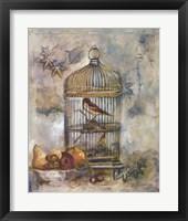 Framed Song Bird I
