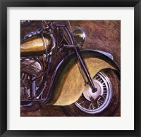 Framed Vintage Motorcycle 2