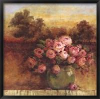 Framed Sunlit Floral