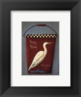Framed Henry Heron Bucket