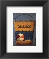 Framed Seaside Bucket