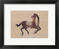 Framed Dynastic Horses I
