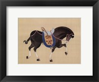 Framed Dynastic Horses III