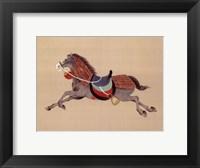 Framed Dynastic Horses IV