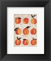 Framed Peach Collage