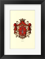 Framed Coat Of Arms IV