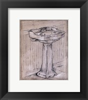 Bath Time I Framed Print