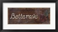 Framed Betterave