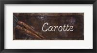 Framed Carotte