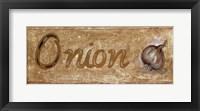 Framed Onion