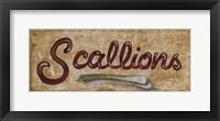 Framed Scallions