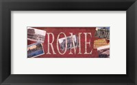 Great Cities III Framed Print