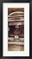 Framed Storefront Of Italy I
