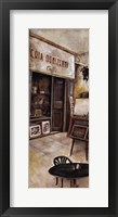 Storefront Of Italy II Framed Print