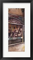 Storefront Of Italy III Framed Print