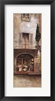 Framed Storefront Of Italy IV