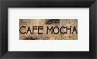 Framed Cafe Mocha