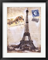 My Paris Souvenir III Framed Print