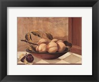 Framed Tuscan Fruit Bowl II