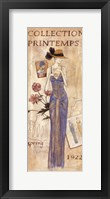 La Mode 1922 Framed Print
