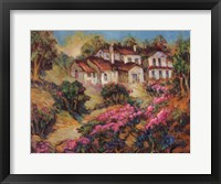 Vineyards In Provence III Framed Print