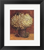 Framed Hydrangeas With Grapes