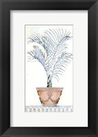Palm Topiary I Framed Print