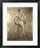 Framed Martha Laber