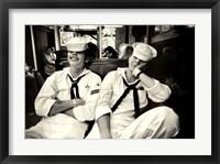 Floppy Sailors Framed Print