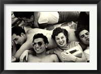 Framed Teenagers, Coney Island, 1949