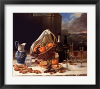 Framed Luncheon Still Life