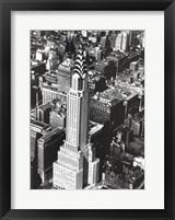 Framed Chrysler Building, New York, 1935