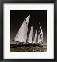 Framed Sailing at Cowes II