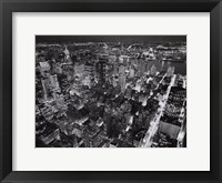 Empire State Building, East View Framed Print