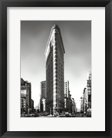 Framed New York, New York, Flatiron Building