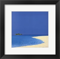 Island in the Sun I Framed Print