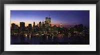 Framed New York Skyline