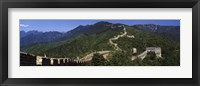 Great Wall of China, Mutianyu Framed Print