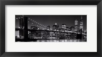 Framed Brooklyn Bridge