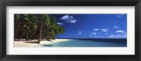 Island Beach, Maldives, North Indian Ocean Framed Print