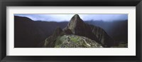 Machu Picchu, Los Andes, Peru Framed Print