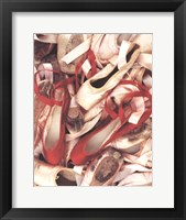 Framed Satin Shoes