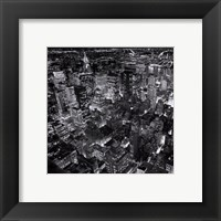 New York by Night Framed Print