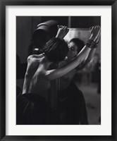 Le Miroir Framed Print