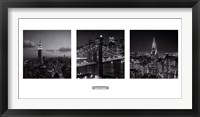 Framed Views of New York I