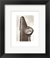 Framed Fifth Avenue Clock