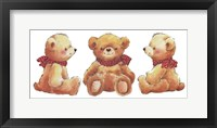 Framed Teddies