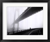 Framed Verrazano Bridge