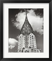 Top of Chrysler Building Framed Print